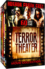 Horror Freak Fest: Terror Theater Movie Collection (DVD, 2015, 15-Disc Set) NEW