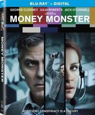 MONEY MONSTER - BLU RAY - JULIA ROBERTS, GEORGE CLOONEY - SHIPS SEPT 6TH