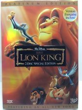 The Lion King (DVD, 2003, 2-Disc Set, Platinum Edition; Features an All-New Song