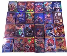 Disney DVD Lot: 12 Movies - Beauty Beast, Snow White, Cinderella Aladdin & More