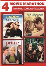 4 MOVIE MARATHON ROMANTIC COMEDIES COLLECTION ( DVD, 2016) NEW