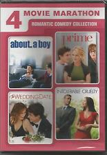 4 MOVIE MARATHON ROMANTIC COMEDY COLLECTION DVD