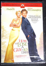 "How to Lose a Guy in 10 Days (DVD, 2003, Full Screen) KATE HUDSON ""NEW"""