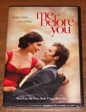 Me Before You on DVD - BRAND NEW & FACTORY SEALED! Emila Clark Sam Claflin