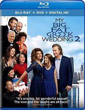 My Big Fat Greek Wedding 2 (Blu-ray/DVD, 2016, 2-Disc Set, + Digital HD) NEW