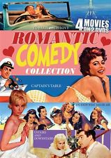 ROMANTIC COMEDY COLLECTION 4 MOVIES New DVD To Paris with Love Captains Table