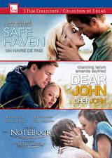 Safe Haven/Dear John/The Notebook New DVD