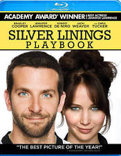 Silver Linings Playbook (Blu-ray Disc, 2013) NEW