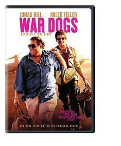 War Dogs (DVD 2016) NEW* Comedy, Drama, Crime* NOW SHIPPING !