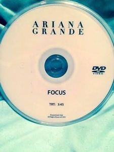 Ariana Grande DVD single FOCUS music video not a CD