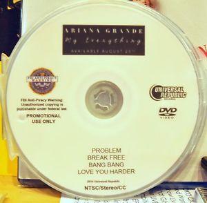 Ariana Grande PROBLEM Break Free Bang Bang Love Me Harder DVD (not CD)
