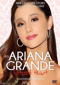 Ariana Grande: Tattooed Heart Unauthorized DVD New