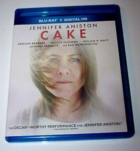 Cake BLU-RAY - Jennifer Aniston & Anna Kendrick - MINT