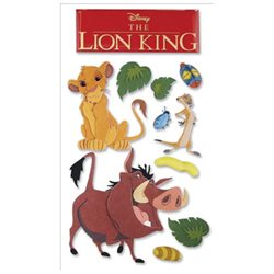 Disney Le Grande Dimensional Sticker-The Lion King