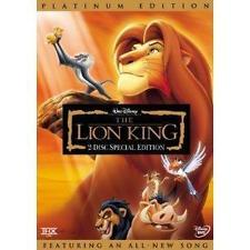 END OF YEAR SALE! The Lion King (DVD, 2003, 2-Disc Set, Platinum Edition)