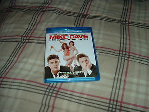 Mike and Dave Need Wedding Dates Blu-ray + DVD, 2016 Anna Kendrick Aubrey Plaza