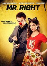MR RIGHT New Sealed DVD Anna Kendrick