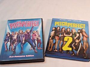 Pitch Perfect DVD & Pitch Perfect 2 DVD/Blu-Ray/Di