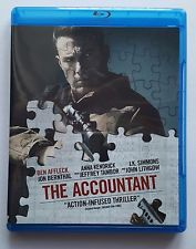The Accountant (Bluray, 2016) BEN AFFLECK, ANNA KENDRICK