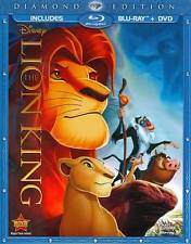 The Lion King Blu-ray/DVD 2-Disc Set Diamond Edition New Disney with Slipcover