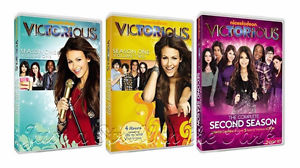 Victorious Ariana Grande TV Series: Complete Seasons 1 & 2 Box / DVD Set(s) NEW!