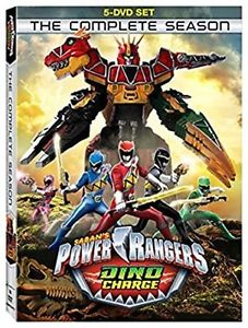 Power Rangers Dino Charge: The Complete Season DVD