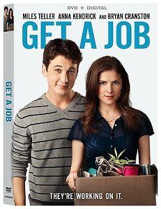 Get A Job (Miles Teller Anna Kendrick Bryan Cranston) Region 1 DVD New