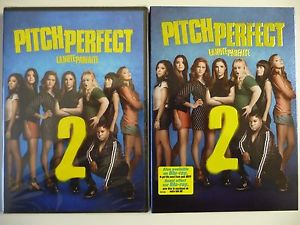NEW/SEALED - Pitch Perfect 2 (DVD, 2015) Anna Kendrick, w/slipcover