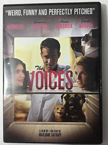 The voices // dvd // Ryan reynolds // Anna Kendrick // item #202