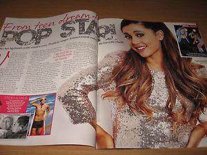 ARIANA GRANDE - 2 page magazine clipping