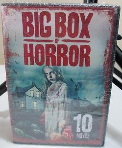 Big Box of Horror 9 Movies DVD 2016 2 Disc Set