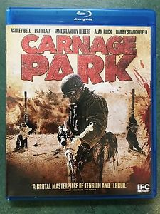 Carnage Park (Blu-ray Disc, 2016) Horror Pat Healy Ashley Bell Shout Factory