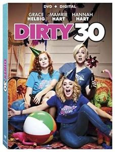 Dirty 30 (DVD + Digital, 2016) BRAND NEW, SEALED +SLIPCOVER