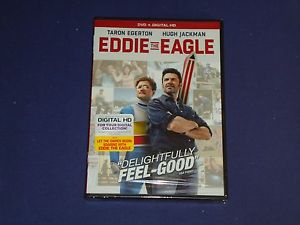 Eddie the Eagle (DVD, 2016)