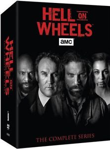 Hell on Wheels Season 1-5 Complete Series Boxset (17 DVD 2016) 1 2 3 4 5 Box Set