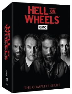 Hell on Wheels Season One-Five 1-5 Complete Series Boxset DVD (17-Disc 2016)