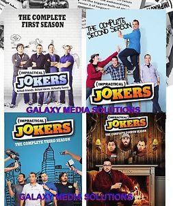 Impractical Jokers Season 1-4 One Four DVD Bundle (12-Disc 2016) 1 2 3 4 Comedy