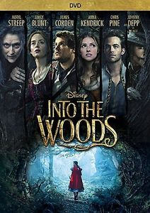 INTO THE WOODS DVD - SINGLE DISC EDITION - NEW UNOPENED - ANNA KENDRICK