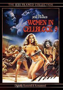 Jess Franco's Women in Cellblock 9 DVD, Starring Susan Hemingway