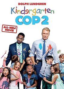 Kindergarten Cop 2 (DVD, 2016) NEW