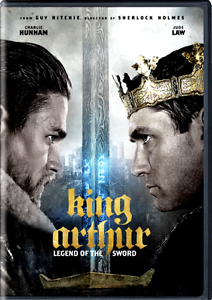 KING ARTHUR: LEGEND OF THE SWORD: NEW PRE-ORDER SHIPS ON 08-08 (DVD,2017)