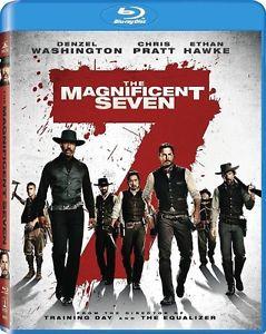 Magnificent Seven (Blu-Ray / Digital HD 2016) NEW