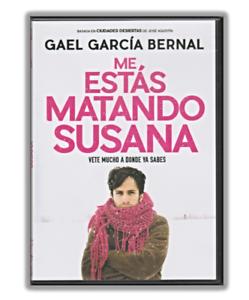 Me Estas Matando Susana DVD Movie, Gael Garcia (2016) Comedy, Drama, Full Screen