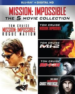 Mission: Impossible 5-Movie Collection Blu-ray