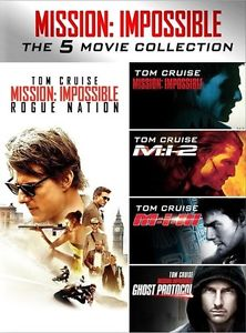 Mission: Impossible 5-Movie Collection DVD
