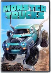 NEW - Monster Trucks (DVD 2016) Family, Animation* SHIPPING NOW !