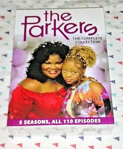 NEW! THE PARKERS: COMPLETE SERIES COLLECTION. 2016, 12 DISC BOX SET. SHIPS FREE