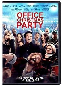 Office Christmas Party (DVD 2016)NEW* Comedy* Now Shipping