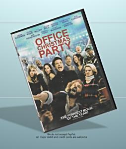 Office Christmas Party DVD Movie, Jason Bateman (2016) Comedy, WS, Last Ones!