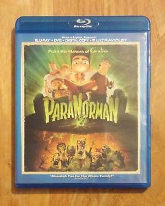 ParaNorman (2012) Like New Blu-ray + DVD Kodi Smit-McPhee, Anna Kendrick